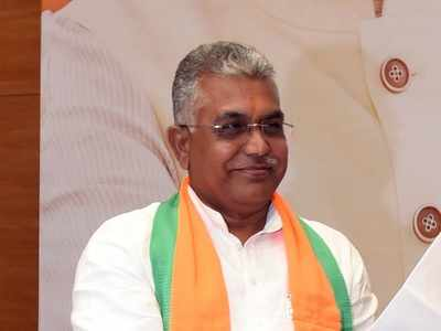 West Bengal: BJP state president Dilip Ghosh allegedly attacked by miscreants
