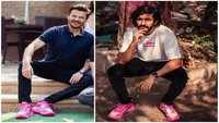 Theft alert! Watch this hilarious video of Anil Kapoor as he raids son Harsh Varrdhan Kapoor's shoe closet