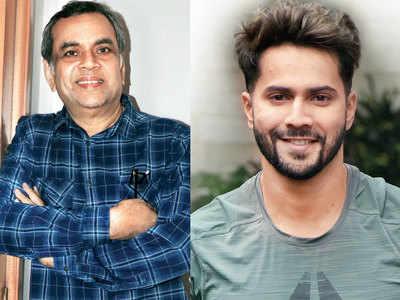 Paresh Rawal joins the cast of Varun Dhawan and Sara Ali Khan's Coolie No 1 reboot