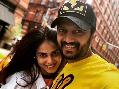 Riteish, Genelia Deshmukh share adorable videos to wish each other on their 8th wedding anniversary