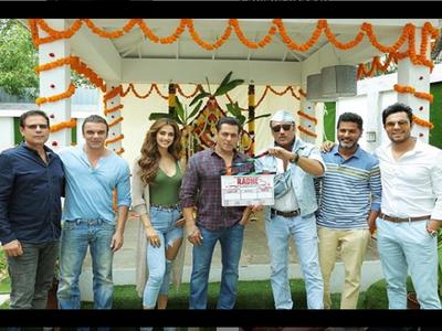 Salman Khan begins shooting for Radhe along with Disha Patani, Randeep Hooda and Jackie Shroff