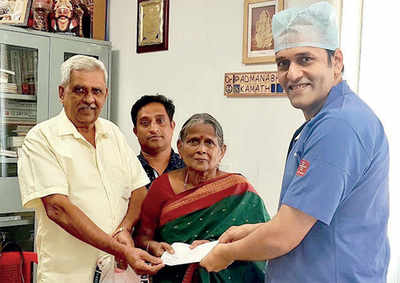 Sullia resident shows she has a heart of gold