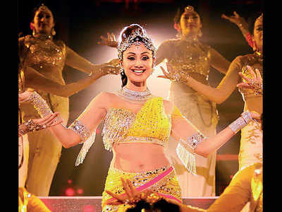 Shilpa Shetty on her 'grandest performance in 25 years'