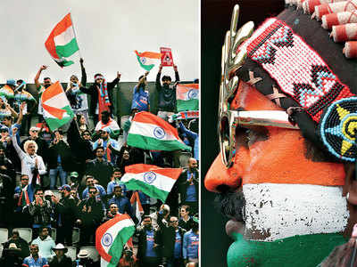 Only cricket, no politics: India, Pakistan fans make best of carnival-like atmosphere at Trafford and Etihad Stadium