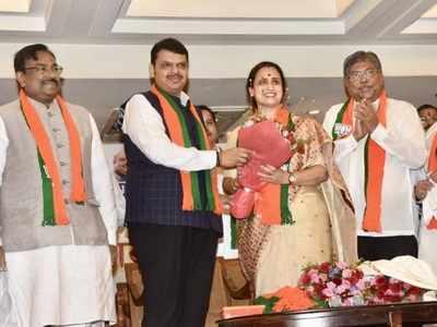 NCP turncoats Dhananjay Mahadik, Chitra Wagh made Maharashtra BJP vice presidents