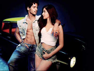 Ishaan Khatter and Ananya Panday shoot for a high-octane chase sequence in Bhendi Bazaar