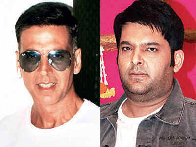 Akshay Kumar and Kapil Sharma's baby talk