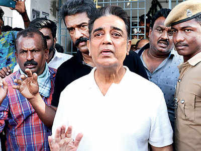 Kamal Haasan: Had the crane fallen inches away, I would have been in the mortuary