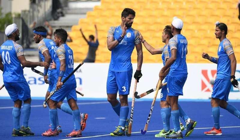 Indian men's hockey team wins bronze