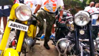 Telangana: Enthusiasts take out motorcycle rally on 17th International Jawa Day