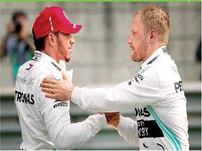 Bottas and Hamilton for pole position at 1000th Grand Prix