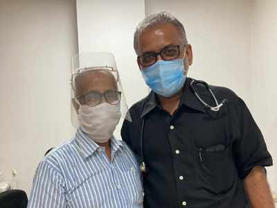 81-year-old man from Pune defeats stage four colon cancer