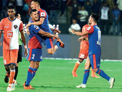 Mumbai's Rahul Bheke help Bengaluru FC defeat FC Goa in final clash