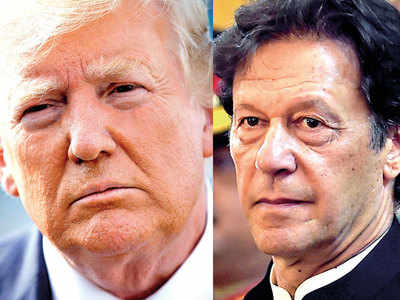 Trump asks Imran Khan to 'moderate rhetoric' over J&K