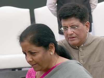 Where are the often seen and heard Nirmala Sitharaman and Piyush Goyal?