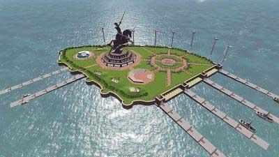 Shivaji Smarak: Maharashtra government wants to increase the height of the memorial