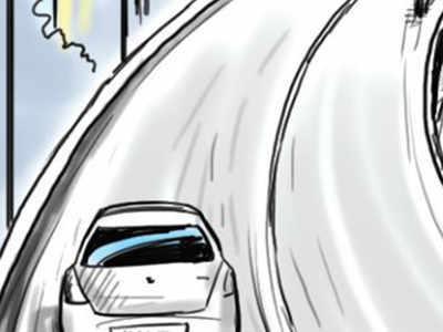 Road rage on Marathahalli Bridge: Water tanker driver slaps motorist; says North Indians have ruined Bengaluru