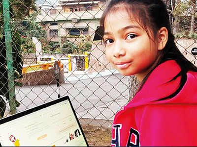 Nine-yr-old girl in Shillong develops anti-bullying app