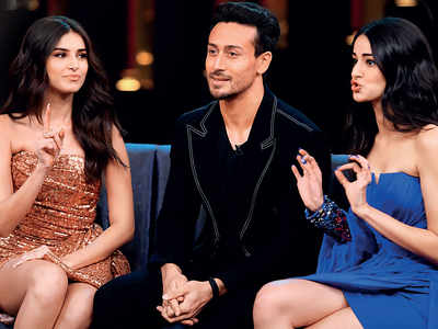Tiger Shroff says he can't sleep alone