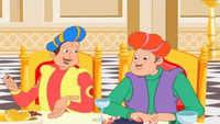 Kids Stories | Nursery Rhymes & Baby Songs - 'Akbar & Birbal Are Greedy' - Kids Nursery Story In Telugu