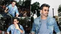 Hrithik Roshan visits cinema hall to see moviegoers' reaction on 'Super 30'