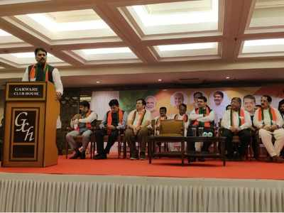Harshvardhan Patil joins BJP, praises CM Devendra Fadnavis