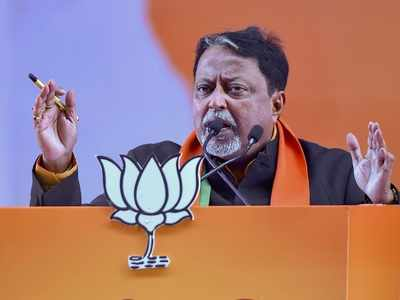 BJP leader Mukul Roy among four booked for TMC MLA Satyajit Biswas's killing in Bengal