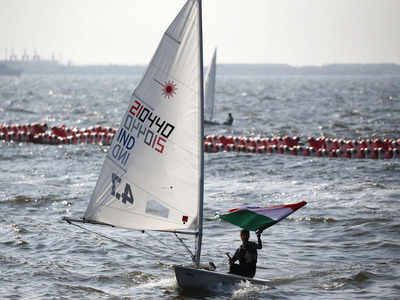 Asian Games: India wins one silver medal, two bronze medals in sailing competitions