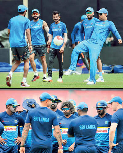 India vs Sri Lanka: Virat Kohli's India in test mode for ICC world cup