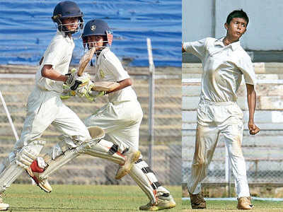 Giles Shield: Aayush Vaity mans the field