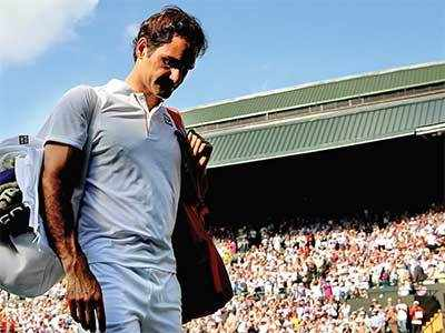 Wimbledon 2018: Roger Federer knocked out in five-set thriller by Kevin Anderson