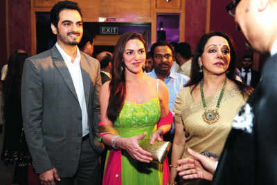 Hema Malini falls short of words to express her joy about Esha Deol's pregnancy