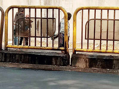 BRTS uses children for clean-up jobs