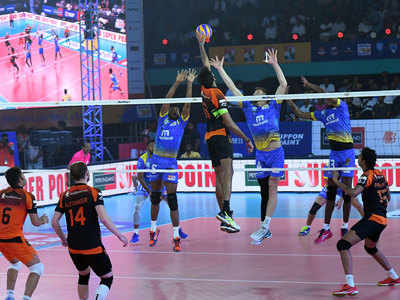 Pro Volleyball League: Kochi Blue Spikers register hat-trick of wins