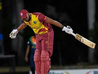 Kieron Pollard becomes third batsman to hit six 6s in an over in international cricket