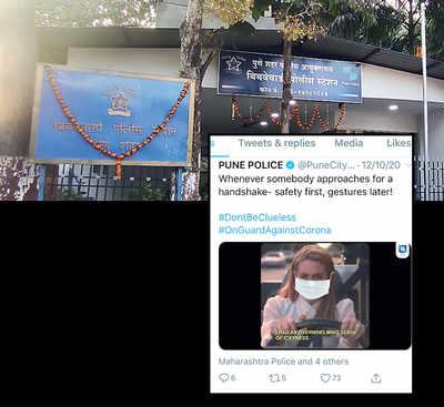 Mumbai-based org calls out Pune police for sparse use of Marathi