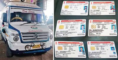 Bandra police bust fake driving-licence racket
