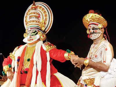 When King Lear meets Kathakali