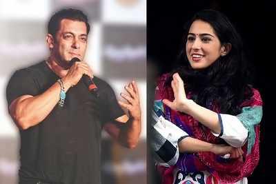 Nostalgia trip for Salman Khan and Sara Ali Khan on Bigg Boss 12