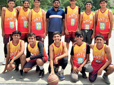 Anand Niketan boys are the champs