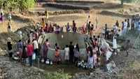Villagers forced to walk kilometres to fetch water in Maharashtra's Nashik