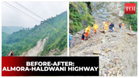 Before and after: How recent rains washed away the Almora-Haldwani highway