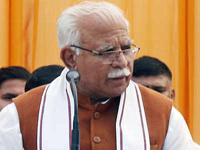 Khattar sworn in for second term; Chautala takes oath as his deputy
