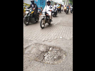 Locals want manhole lid on Kennedy Road fixed