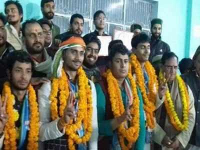 Blow to ABVP as NSUI clean sweeps elections at Varanasi's Sampurnanand Sanskrit Vishwavidyalaya