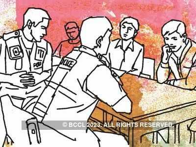 Jamnagar cops beat up businessman without mask, his dad too thrashed
