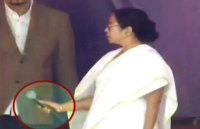 Mamata Banerjee loses cool at media, walks off stage after throwing down mic
