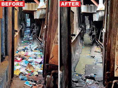 Mumbai cleans up its act (at least for a day)