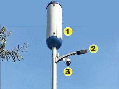 Gandhinagar to get 40 multifunctional streetlight poles
