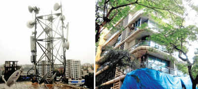 Juhu society residents say cell phone towers are making them sick